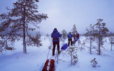 Kolmen päivän talvivaellus Seitsemisen kansallispuistossa
