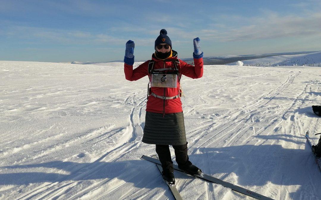 Lumoava ja opettavainen talvivaellus Urho Kekkosen kansallispuistossa