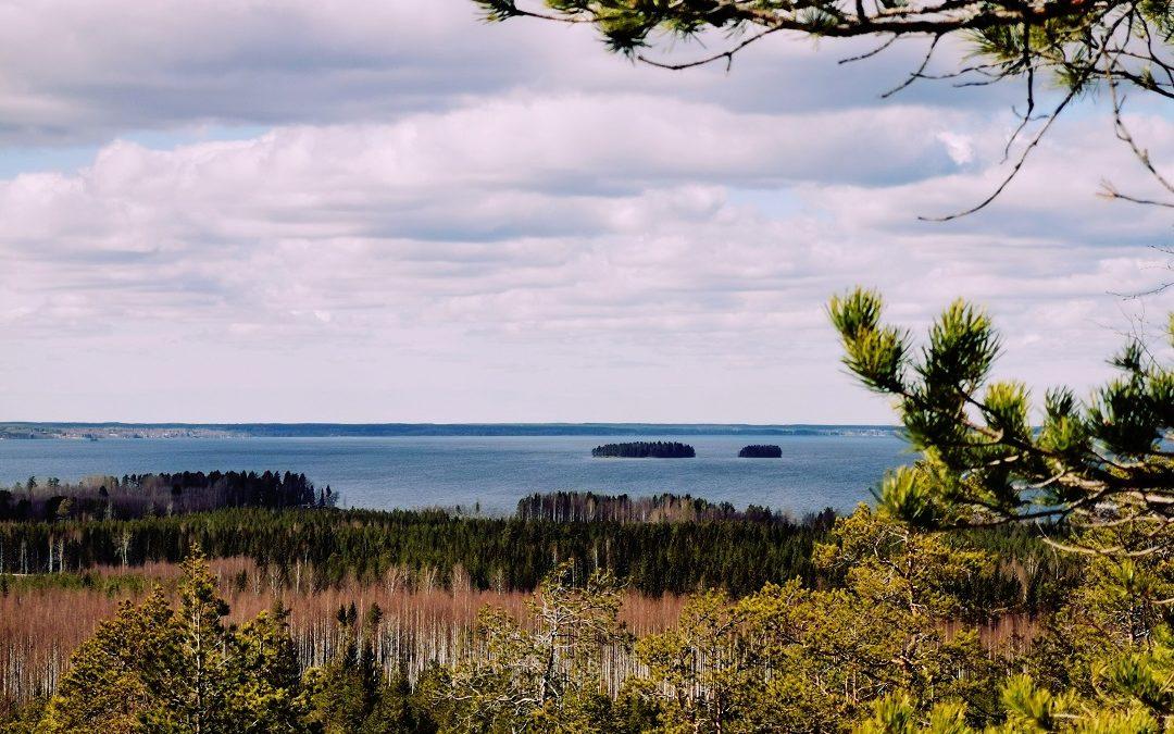 Jylhien maisemien Pyhävuori-Lakeaharjun patikkareitti Etelä-Pohjanmaalla