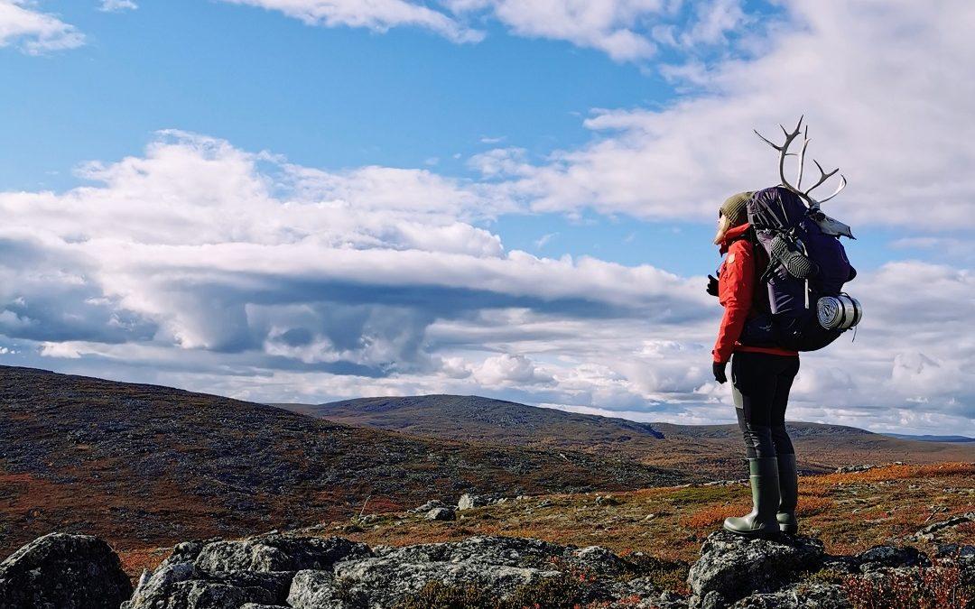 Ikimuistoinen Eräkarkun ruskavaellus Muotkatuntureilla